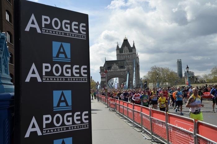 Apogee Official Print Partner to the Virgin Money London Marathon