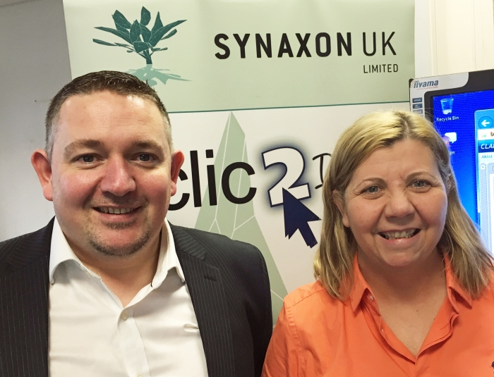 l - Nathan Addison, Cloud Business Development Manager, Synaxon Lisa Winstanley, Marketing Manager