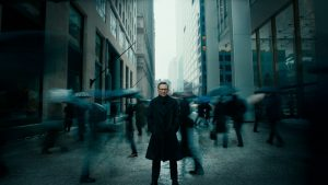 Christian Slater in the new 'HP Secure' film highlighting how corporate networks can be hacked.