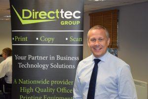 Simon Riley, Sales Director, Direct-tec