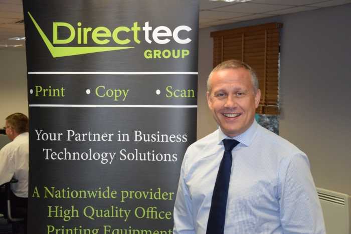 Simon Riley, Sales Director, Direct-tec