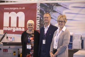 The team from Morgana Systems has seen good sales from the first and second years of the event