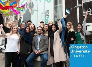 Kingston University campus in London