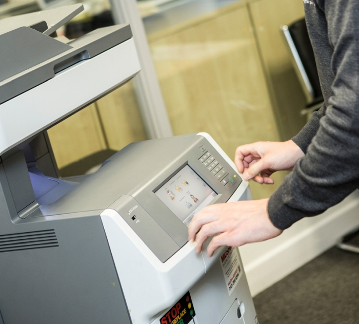 Lexmark printer donated by Midshire