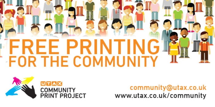Community projects offered free printing