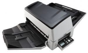 Fujitsu scanner capturing up to A3