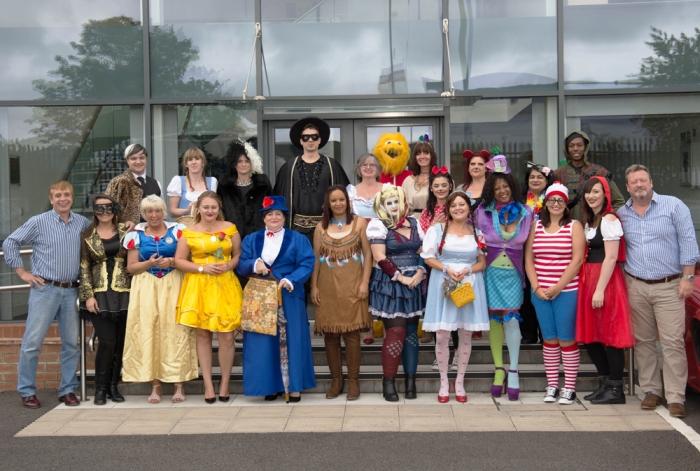 Midshire Midlands staff dressing up