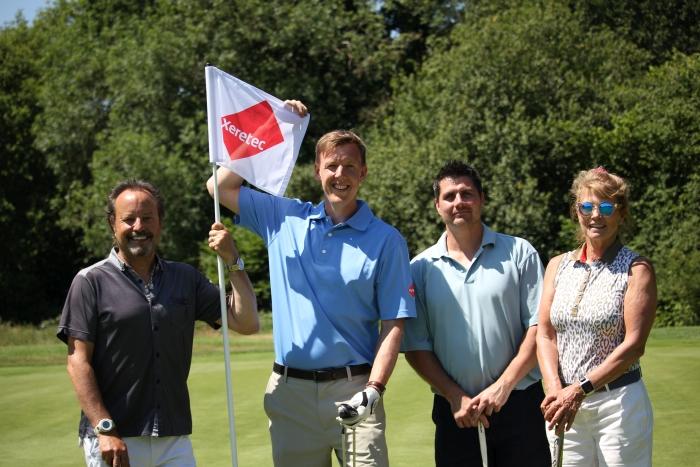(l-r) James Karsenbarg, Tom Sherwin, Gavin Sopera and Sharron Karsenbarg