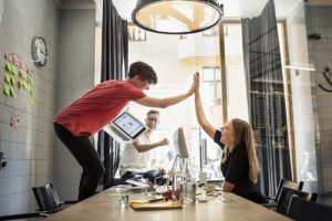 Use of technology within the workspace are staff confident enough to use it?