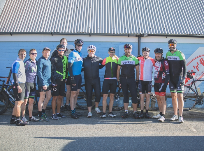 Exertis annual charity cycle ride
