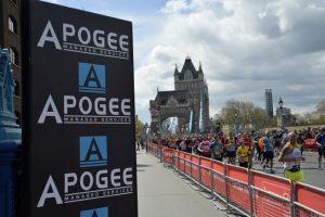 Apogee to supply 2018 Virgin Money London Marathon
