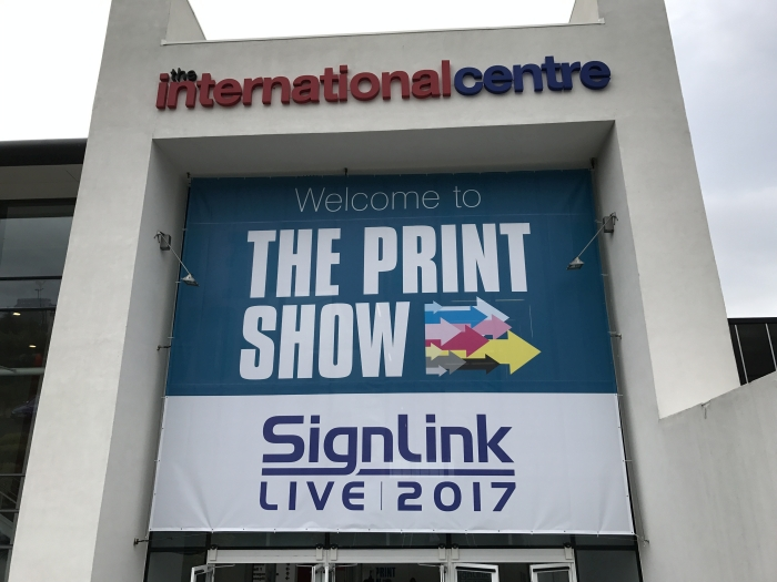Signage for The Print Show