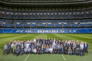 During the evening, guests enjoyed a VIP Tour of the Santiago Bernabeu Stadium, followed by dinner and entertainment