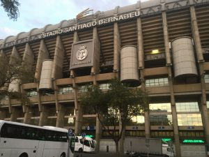 The Santiago Bernabeu Stadium