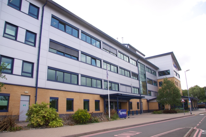 Lyreco offices in Donnington Wood, Telford.