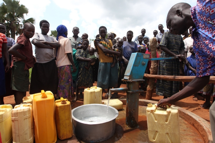 Sponsorship of a well in post-conflict East Africa