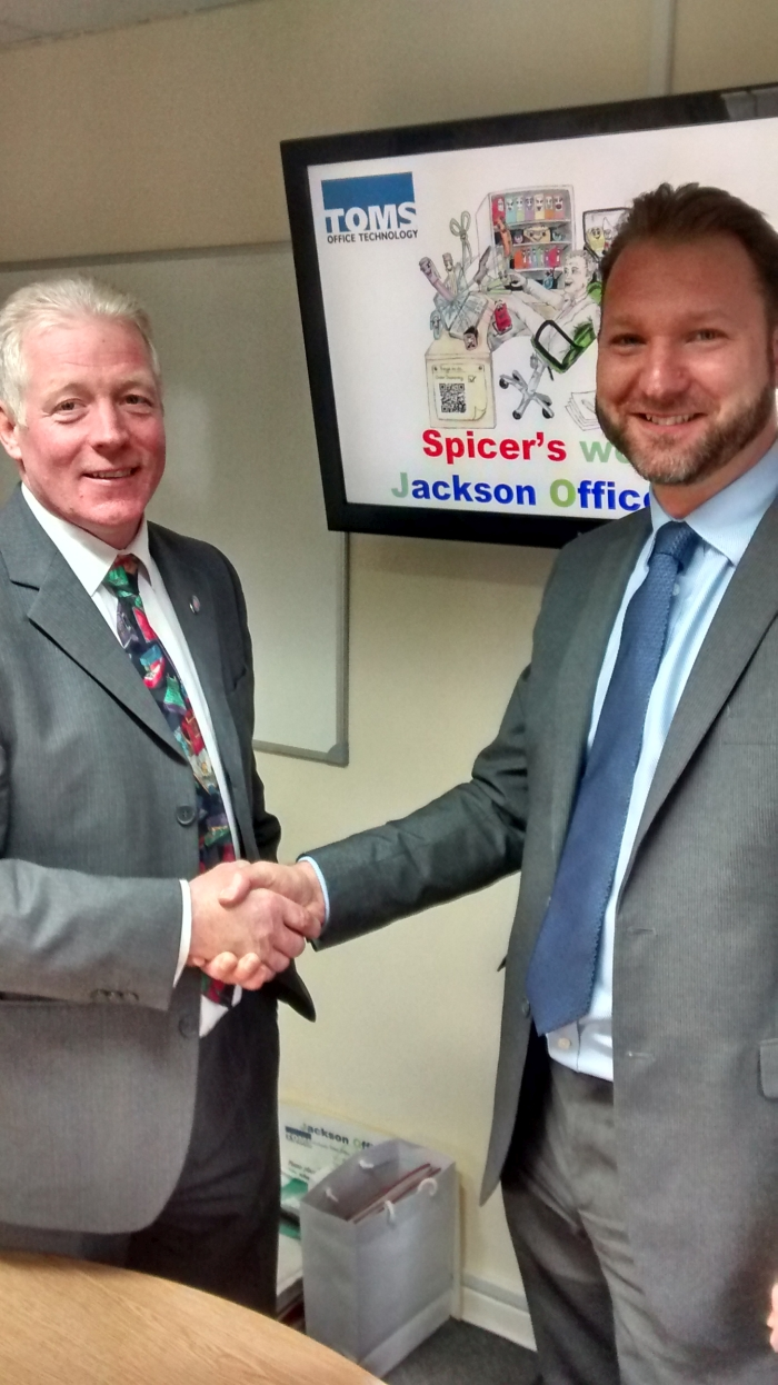 Jackson Office Products joins Spicers Brilliant Partner programme