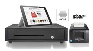Apple certified Airprint POS printer