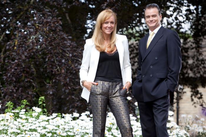 Simone and Arthur Hindmarch