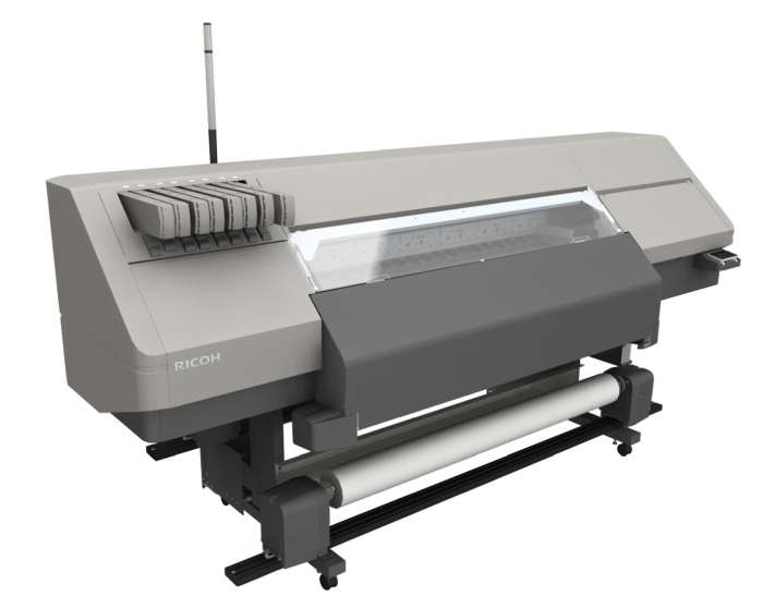 Ricoh latex roll-to-roll printer