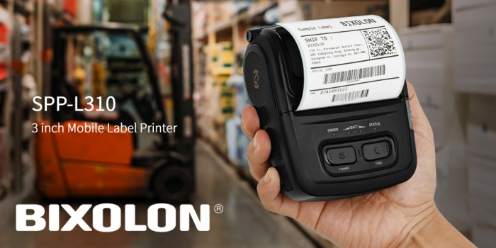 Bixolon mobile label printer