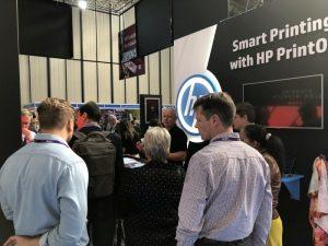 HP reported heavy footfall on its stand over the three days of this year's event