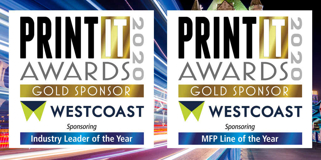 As Gold Sponsor, Westcoast is sponsoring the above two award categories