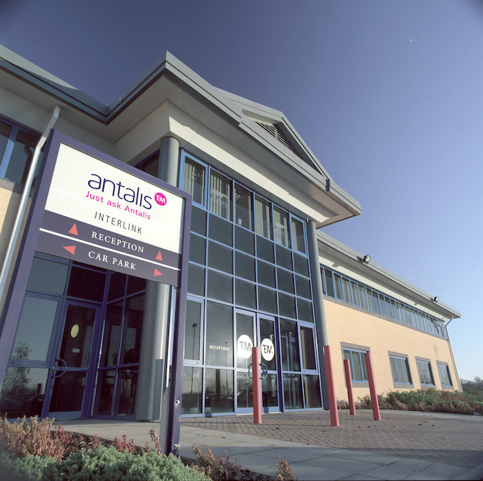 External image of outside Interlink reception