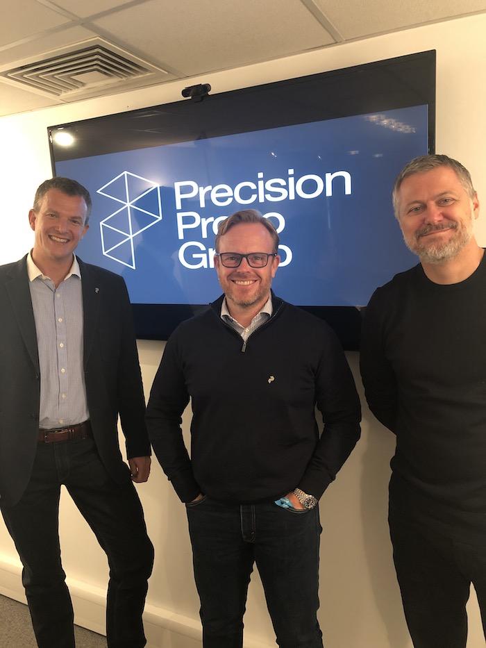 L-R - Jon Tolley, Gary Peeling and Jon Bailey