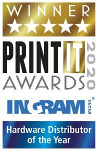 PIA Hardware Distributor ofthe Year Winner