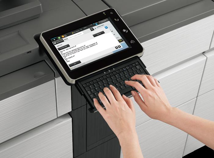 Sharp MX-8081,7081_keybord