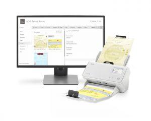 Alaris AX INfuse Scanner product photography, BPO, Service Bureau