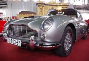 James Bond's car 1965's Aston Martin DB5